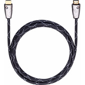 Oehlbach Easy Connect Steel HDMI Kabel 0,75 Meter