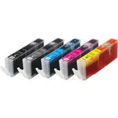 Huismerk PGI-570/CLI-571XL 5-Kleuren Pack voor Canon printers (0372C004)