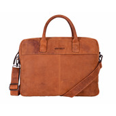DSTRCT Wall Street Workingbag 15,6'' Cognac