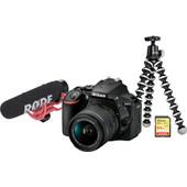Vlogkit voor de gevorderde - Nikon D5600