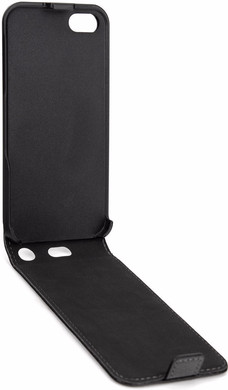 Xqisit Flipcover Apple iPhone 5/5S/SE Black