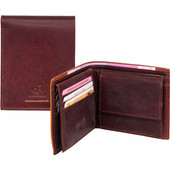 dR Amsterdam Icon Billfold 91524 Brown