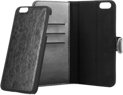 Xqisit Wallet Case Eman Apple iPhone 6 Plus/6s Plus Zwart