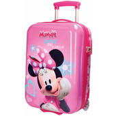 Minnie Mouse Fabulous ABS 2 Wheel Trolley