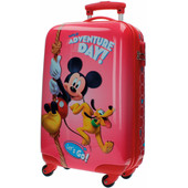 Mickey Mouse ABS 4 Wheel Trolley