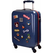 Mickey Mouse Parches ABS 4 Wheel Trolley