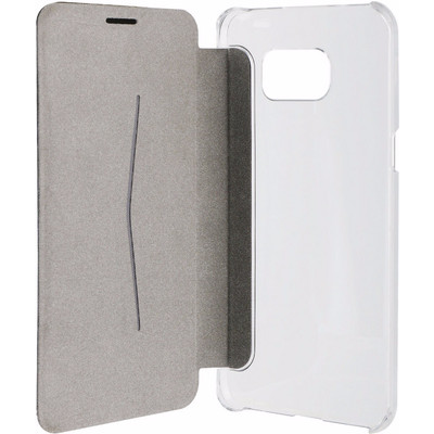Xqisit Adour Flap Cover Samsung Galaxy S6 Edge Plus Zwart
