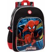 Spiderman Blue City Backpack