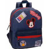Mickey Mouse Parches Adaptable Backpack S
