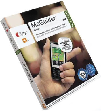 Tele Atlas McGuider Mobile Navigation Europe 2009 on 4 GB ...