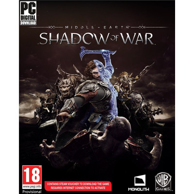 Middle-Earth: Shadow of War PC met Forge Your Army' DLC voor €39,54