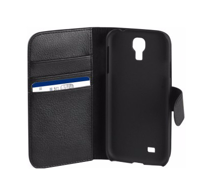 Xqisit Wallet Case Samsung Galaxy S4 Zwart