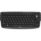 Trust Compact Wireless Entertainment Toetsenbord QWERTY