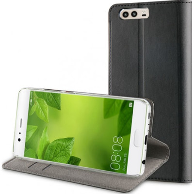 Muvit Folio Stand Huawei P10 Book Case Zwart