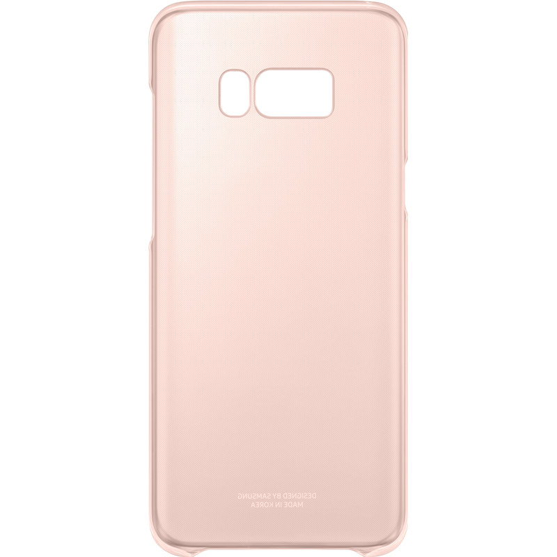 Samsung Galaxy S8 Plus Clear Back Cover Roze