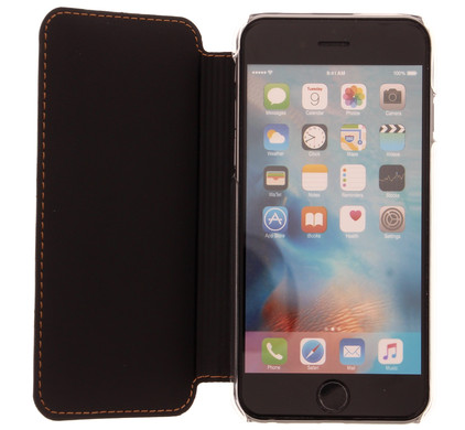 Muvit Luxe Wallet Apple iPhone 6/6s Book Case Bruin