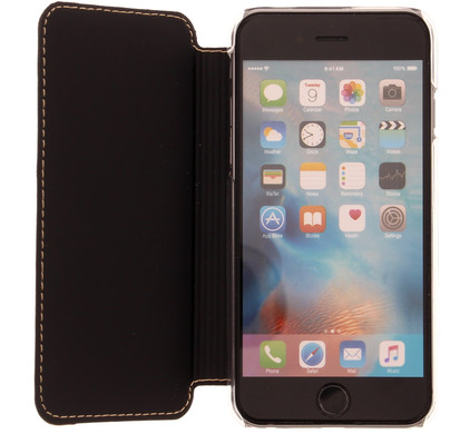 Muvit Luxe Wallet Apple iPhone 6 Plus/6s Plus Book Case Goud