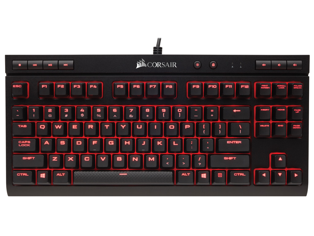 bovenkant K63 Cherry MX Red (Qwerty)