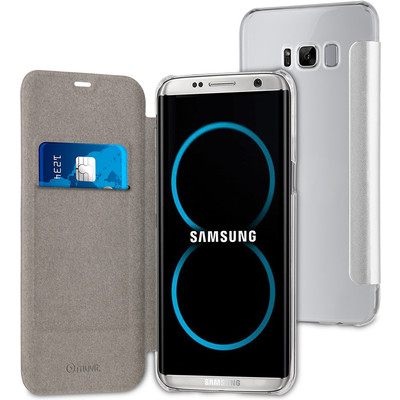 Muvit Folio Samsung Galaxy S8 Book Case Zilver