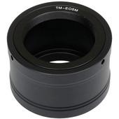 Caruba T-mount adapter Canon EOS M