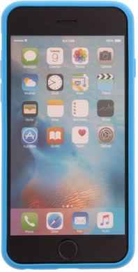 Muvit Frame Apple iPhone 6/6s Back Cover Blauw