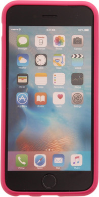 Muvit Frame Apple iPhone 6/6s Back Cover Roze