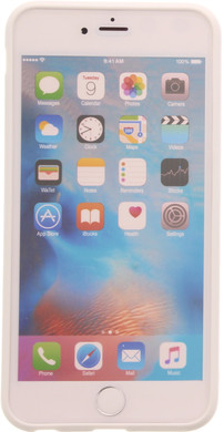 Muvit Frame Apple iPhone 6 Plus/6s Plus Back Cover Wit