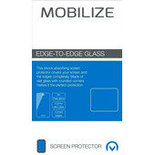 Mobilize Edge To Edge Samsung Galaxy S8 Plus Screenprotector Glas Zwart