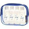 Travel Blue Liquid Organiser Set