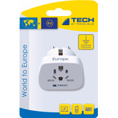 Travel Blue Wereld Adapter - Europa