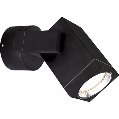 KS Verlichting Cubic Wandlamp Zwart