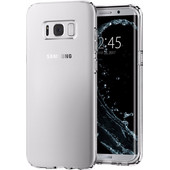 Spigen Liquid Crystal Samsung Galaxy S8 Plus Back Cover Transparant