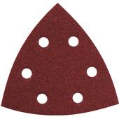 Metabo Driehoekschuurschijf 93x93x93 mm K60, K80, K120 (25x)