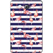 Casetastic Samsung Galaxy Tab A 10.1 Navy Flamingo Hoes