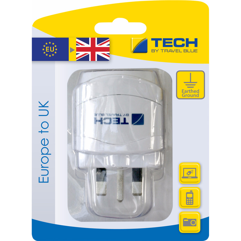 Travel Blue Europa Adapter Global