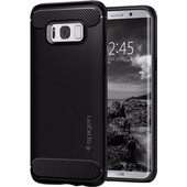 Spigen Rugged Armor Samsung Galaxy S8 Plus Back Cover Zwart