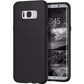 Spigen Liquid Crystal Samsung Galaxy S8 Plus Back Cover  Zwart