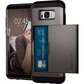 Spigen Slim Armor CS Samsung Galaxy S8 Back Cover Grijs
