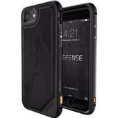 X-Doria Defense Lux Camo Apple iPhone 7 Back Cover Zwart