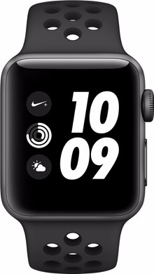 Apple Watch Nike+ 38mm Spacegrijs Aluminium/Antraciet Sportband