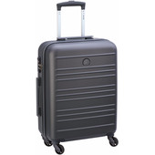Delsey Carlit 4 Wheel Slim Cabin Size Trolley 55 cm Grey