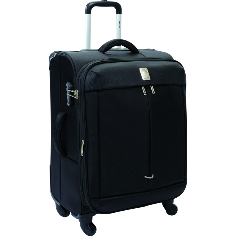 Delsey Flight 4 Wheel Expandable Trolley 65 cm Black