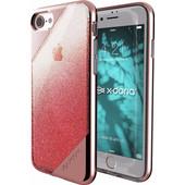 X-Doria Revel Lux Glitter Apple iPhone 7 Back Cover Rose Gold