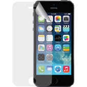 Azuri Apple iPhone 5/5S/SE Screenprotector Plastic Duo Pack
