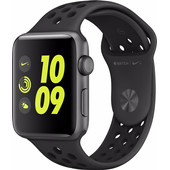 Apple Watch Nike+ 42mm Spacegrijs Aluminium/Antraciet Sportband
