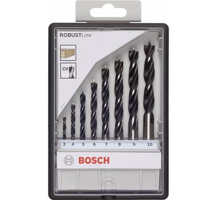 Bosch 8-delige Robust Line Borenset Hout