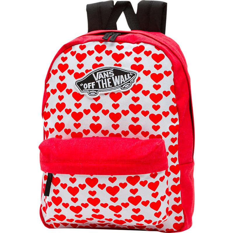 Vans Realm Backpack hearts