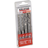 Kreator SDS-Plus borenset 4-delig 5-6-8-10x110mm