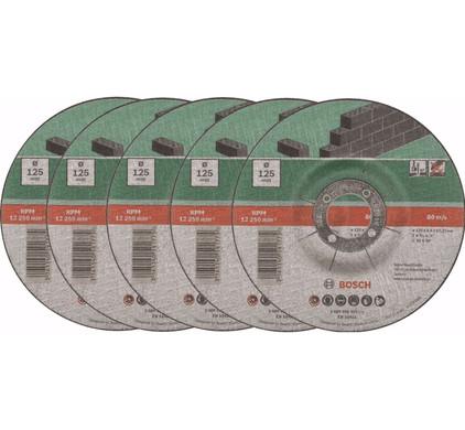 Bosch Afbraamschijf Metaal 125 mm 5 stuks