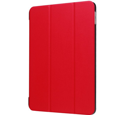 Just in Case Apple iPad (2017) Smart Tri-Fold Case Rood